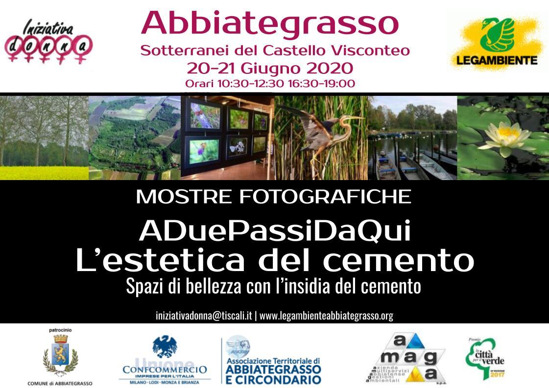 Iniziativa Donna e l'Ambiente: due mostre fotografiche ad Abbiategrasso il 20 e 21 giugno