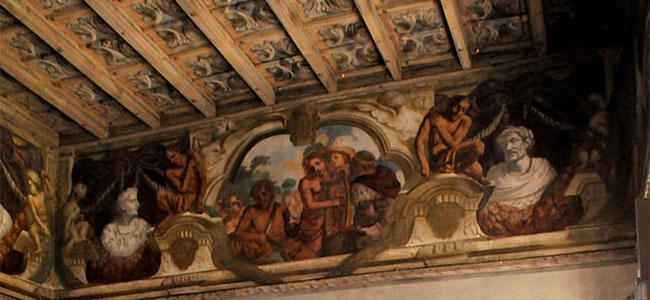 Palazzo Cittadini Stampa e suoi meravigliosi affreschi