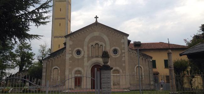 La chiesa di Santa Maria dell'Assunta (fraz. Bestazzo)