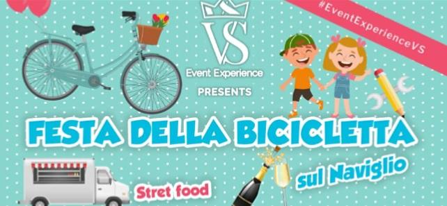 Gaggiano, la Festa della Bicicletta il 6 e 7 aprile: street food, cocktail e giochi lungo il Naviglio
