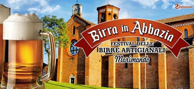 Morimondo: la seconda edizione di Birra in Abbazia il 14, 15 e 16 luglio