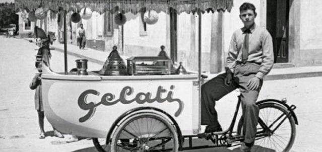 Quando il gelato lo si comprava dal carretto