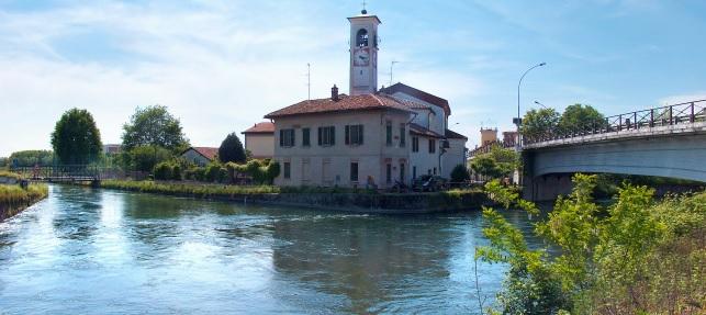 Da Abbiategrasso a Cassinetta navigando sul Naviglio Grande