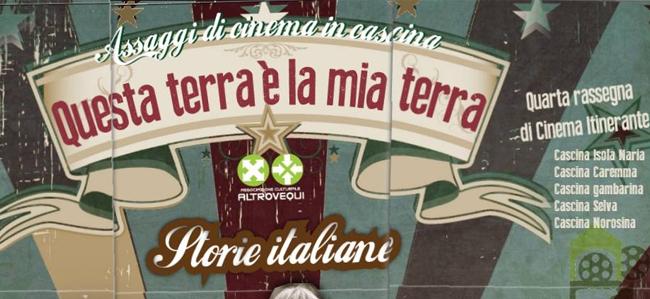 Cinema in Cascina con l'Associazione Altrovequì