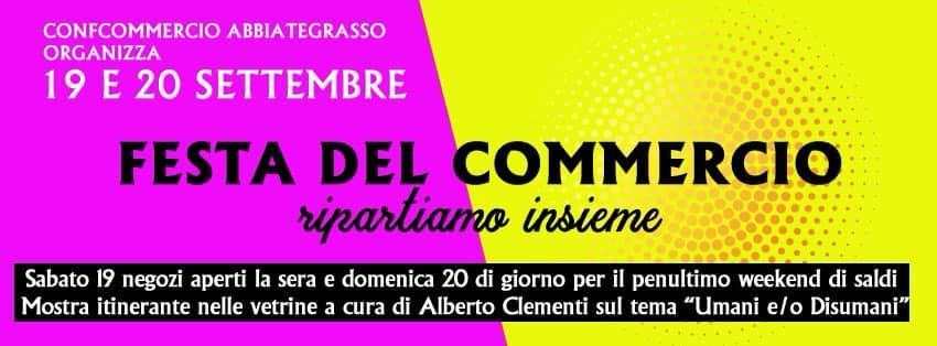 Abbiategrasso, la Festa del Commercio il 19 e 20 settembre