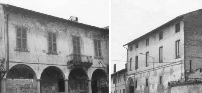 Il Palazzo Terzago (fraz. Bestazzo)