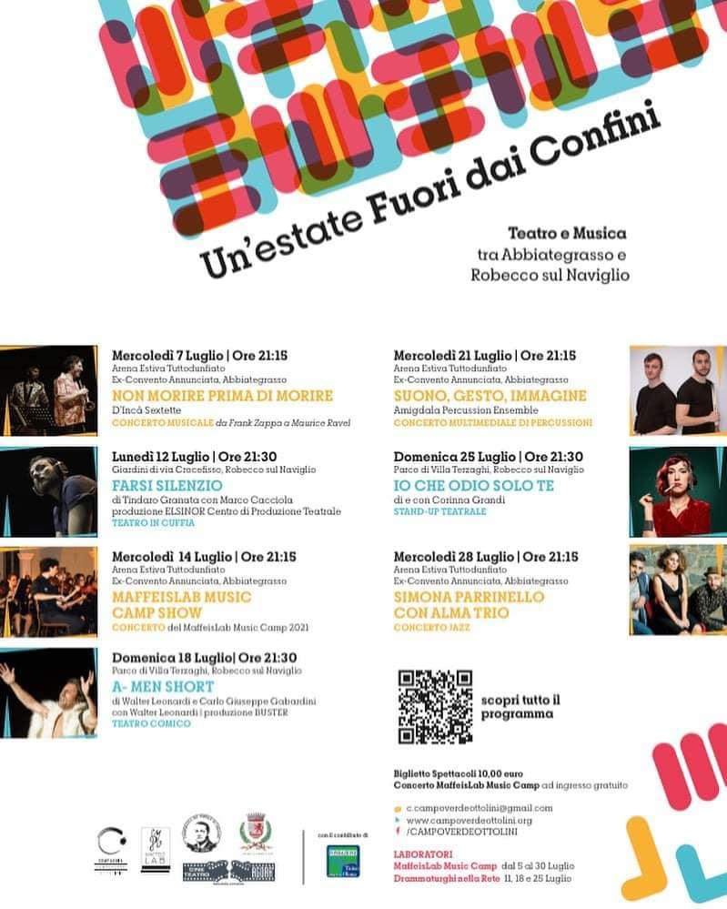 Un'Estate Fuori Dai Confini: Teatro e Musica fra Abbiategrasso e Robecco sul Naviglio