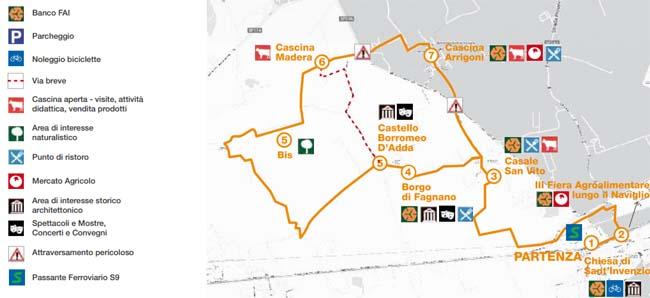 La via lattea tra Gaggiano e Cisliano