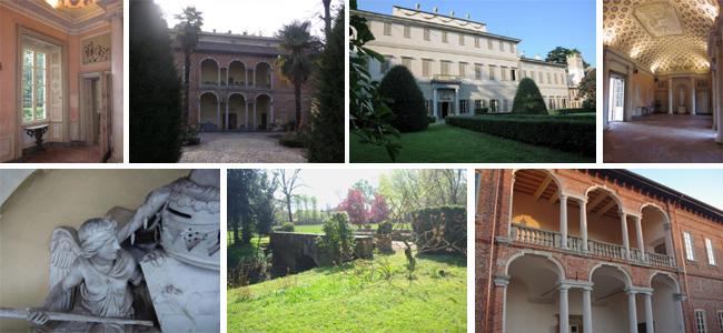 La famiglia Borri e la favolosa villa di Corbetta