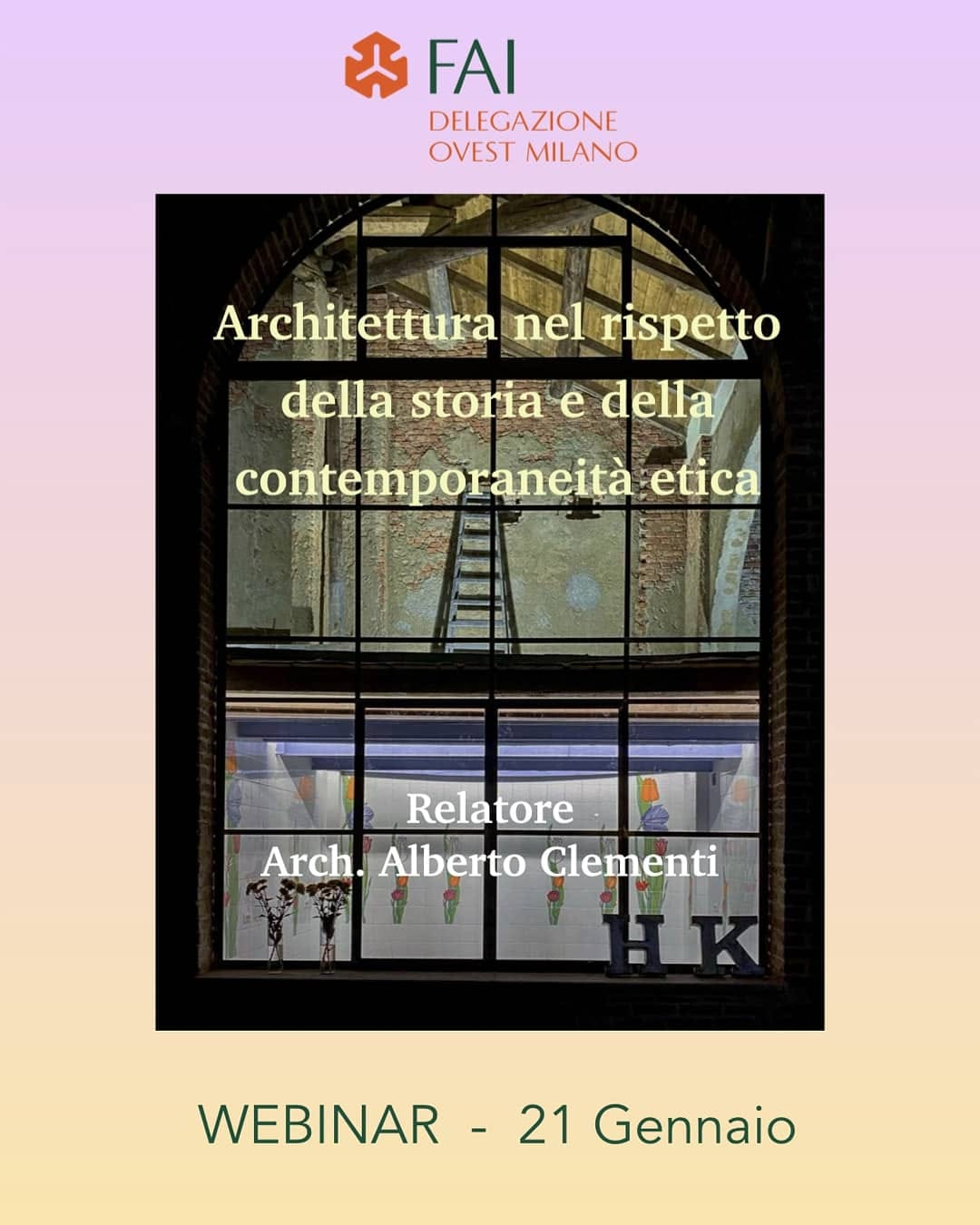 Recupero architettonico dei beni storici: etica ed equilibrio tra il passato e la contemporaneità. Il webinar con Alberto Clementi